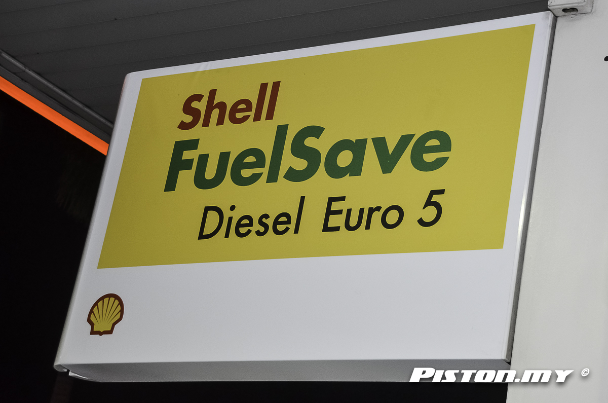 shell diesel euro 5 now available in e malaysia