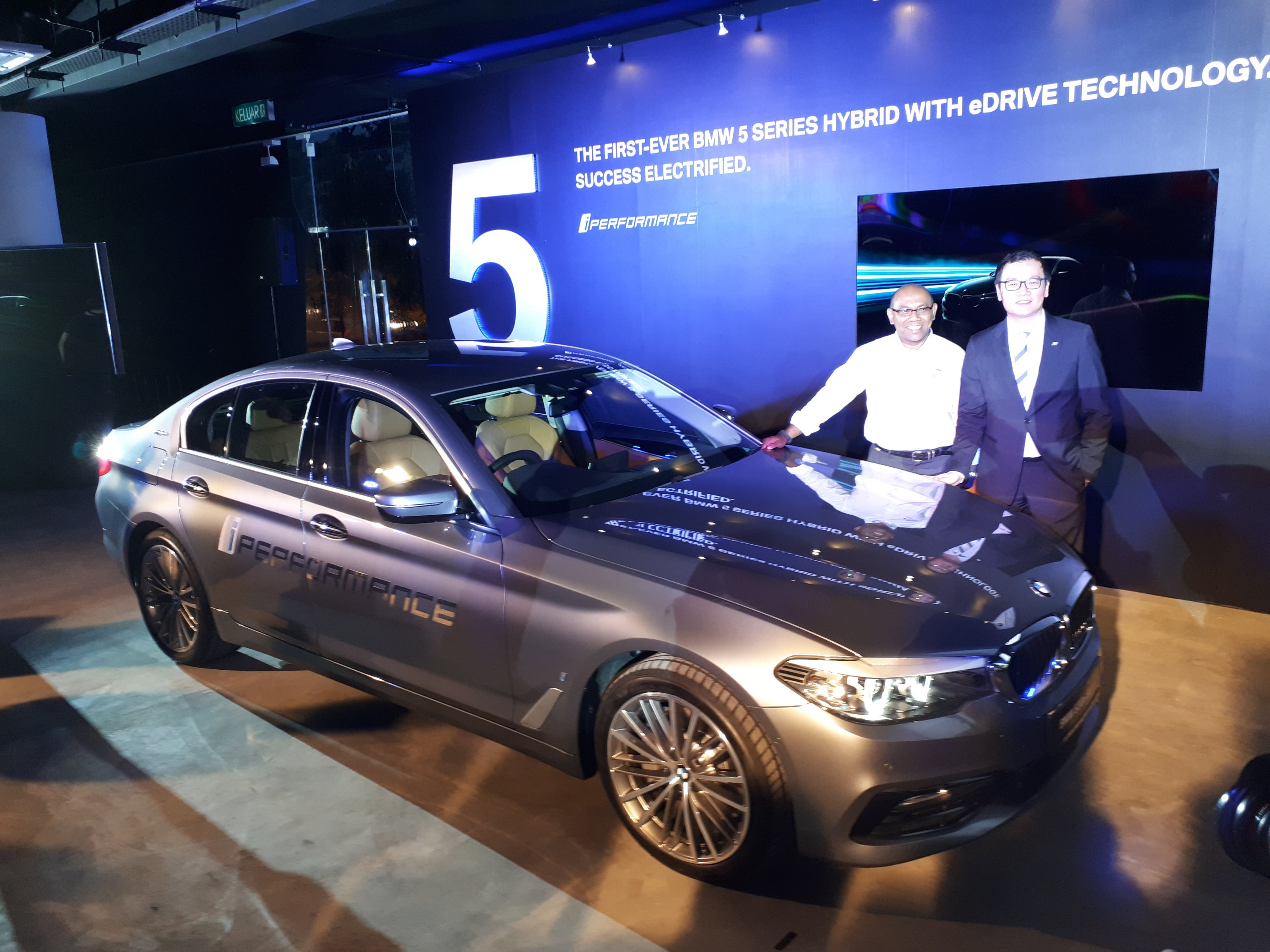 Bmw M Sia Introduces First Ever Bmw 5 Series Hybrid With Edrive