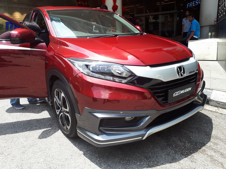 Honda Malaysia Reveals Mugen Hr V Piston My