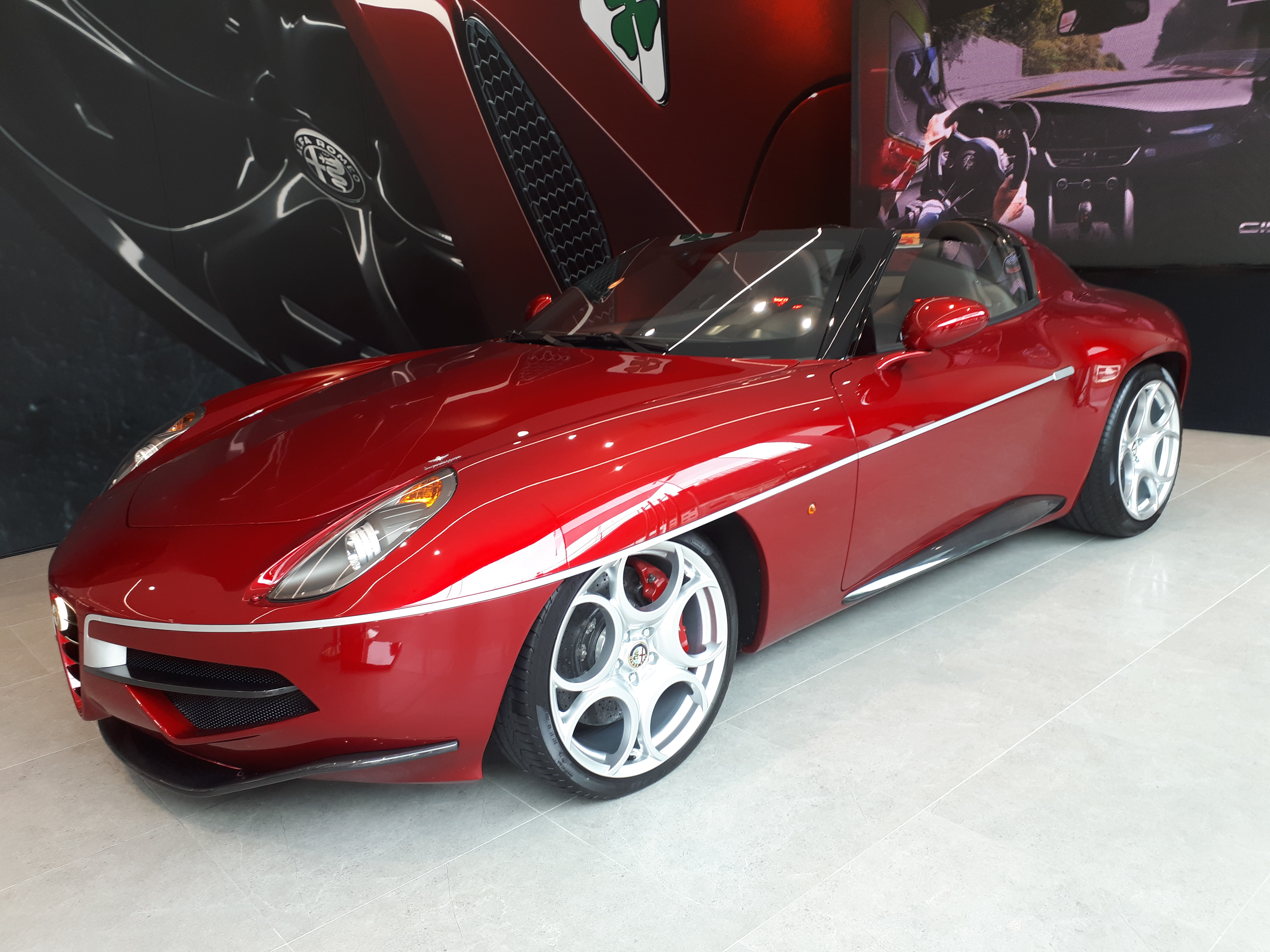 I Drove To Another Country Just To See An Alfa Romeo Disco Volante