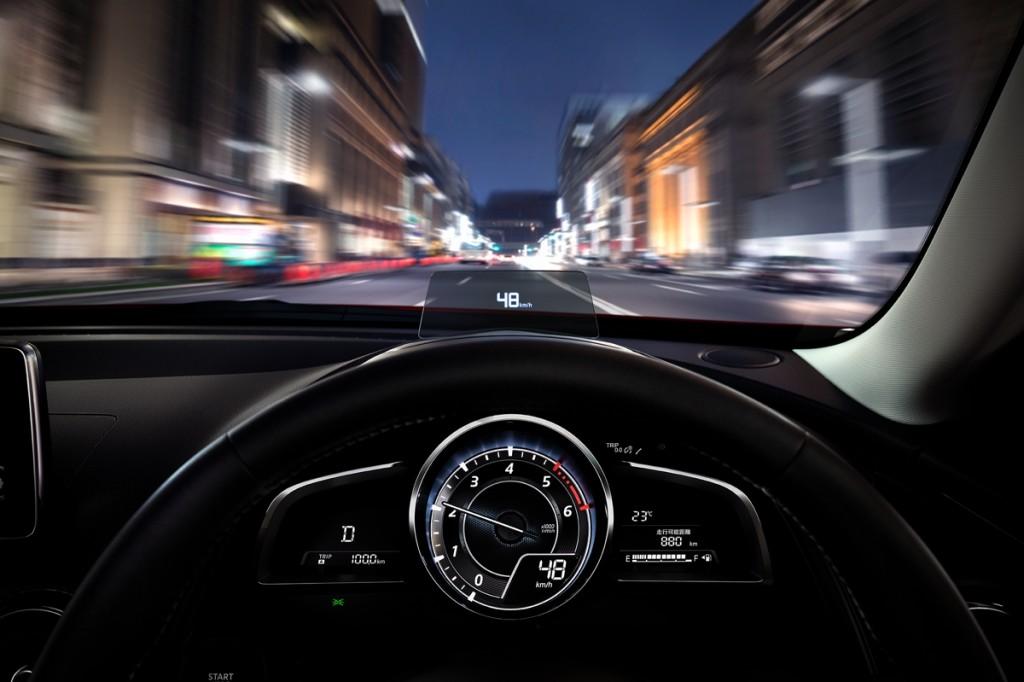 MazdaCX-3 Interior ActiveDrivingDisplay