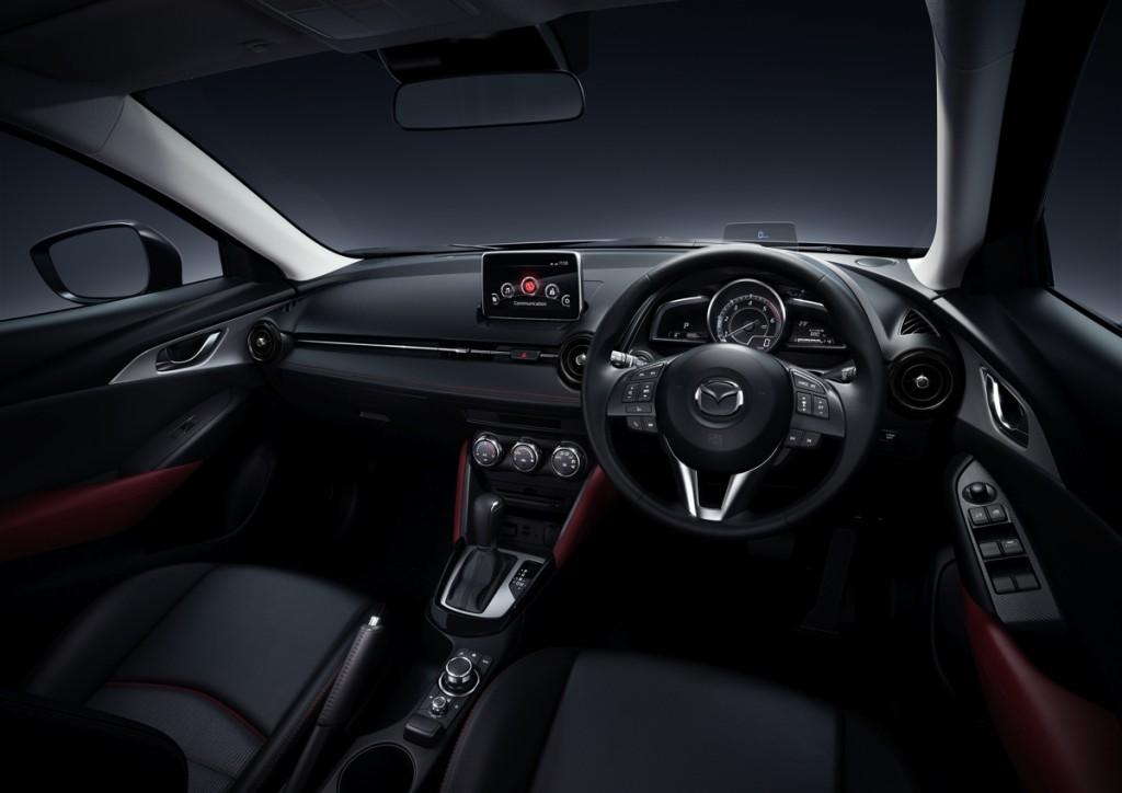 MazdaCX-3 Interior Leatherette