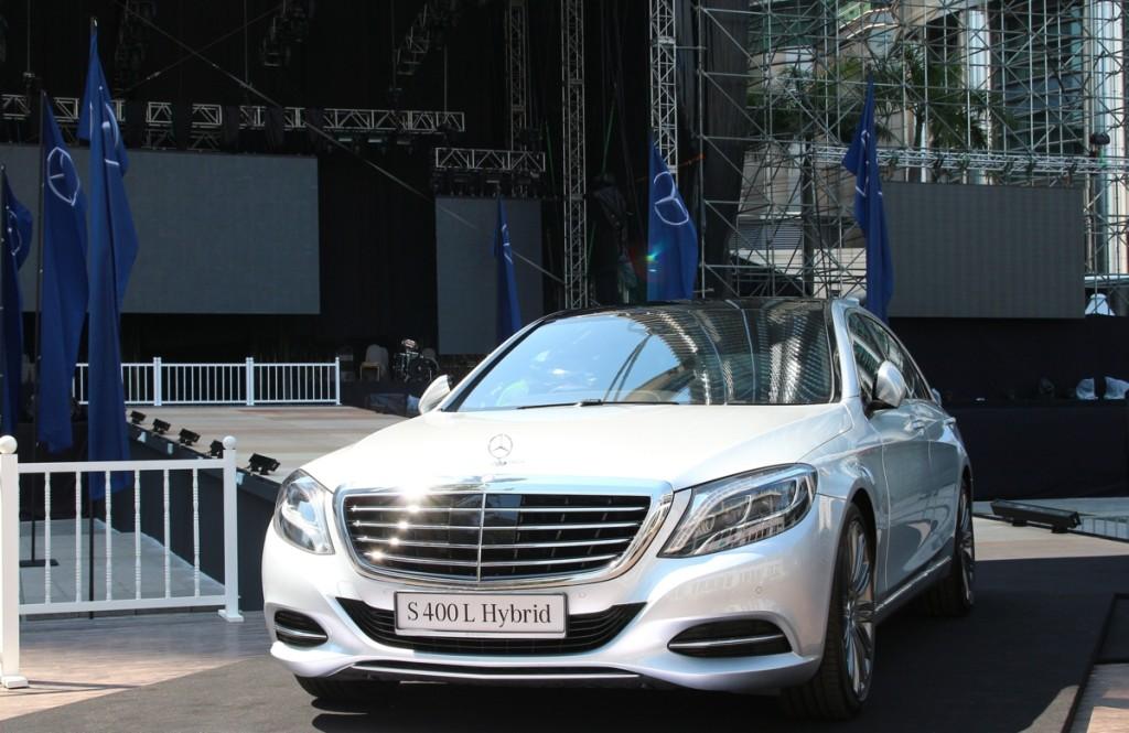 Mercedes-Benz S400L Hybrid