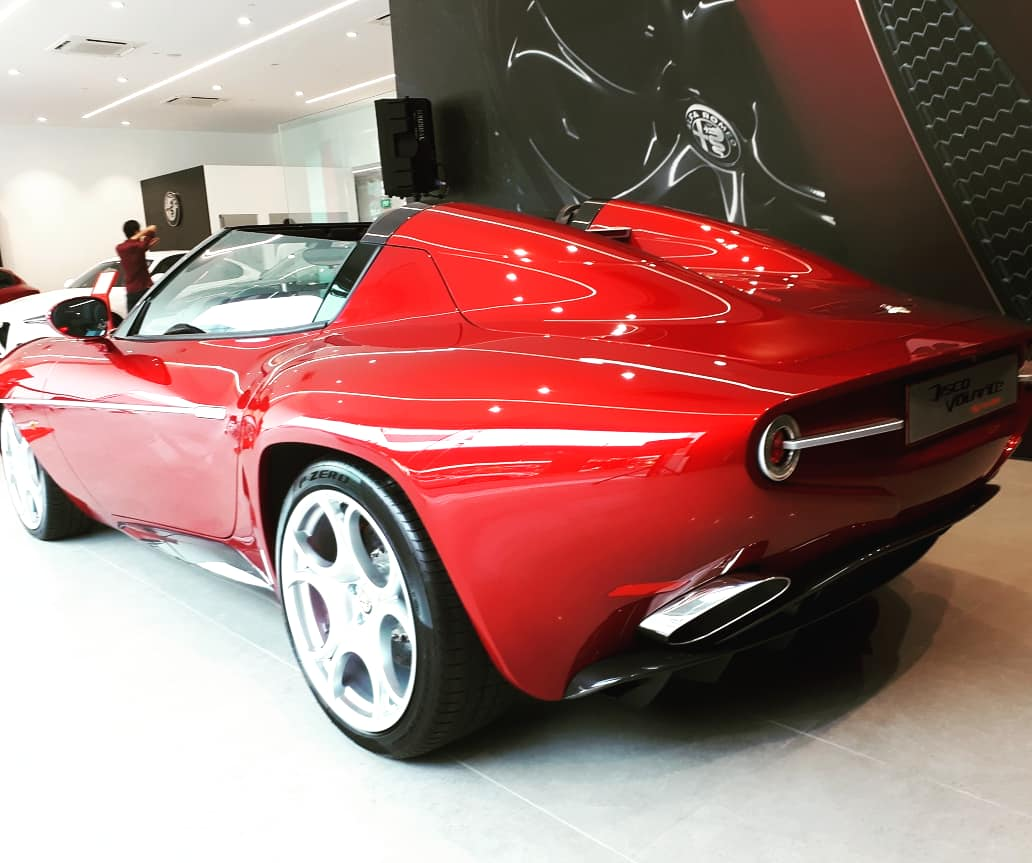 I Drove To Another Country Just To See An Alfa Romeo Disco Volante Spyder Videos News And Reviews On Malaysian Cars Motorcycles And Automotive Lifestyle