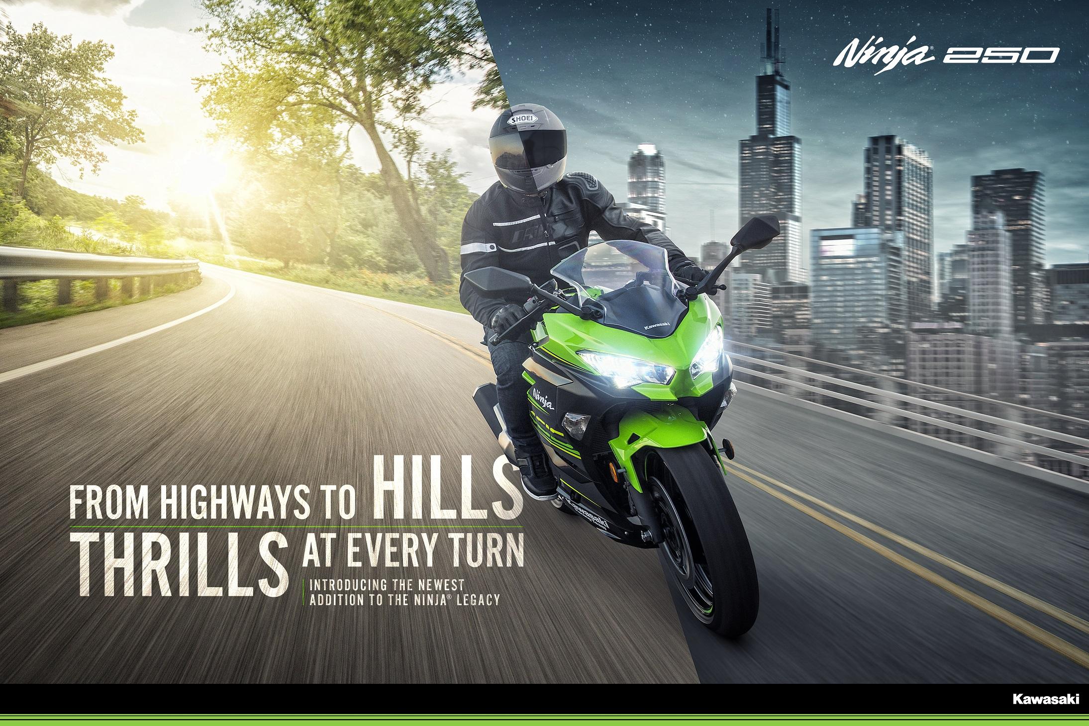 BIKES: Kawasaki Motors Malaysia Unleashes New Ninja 250