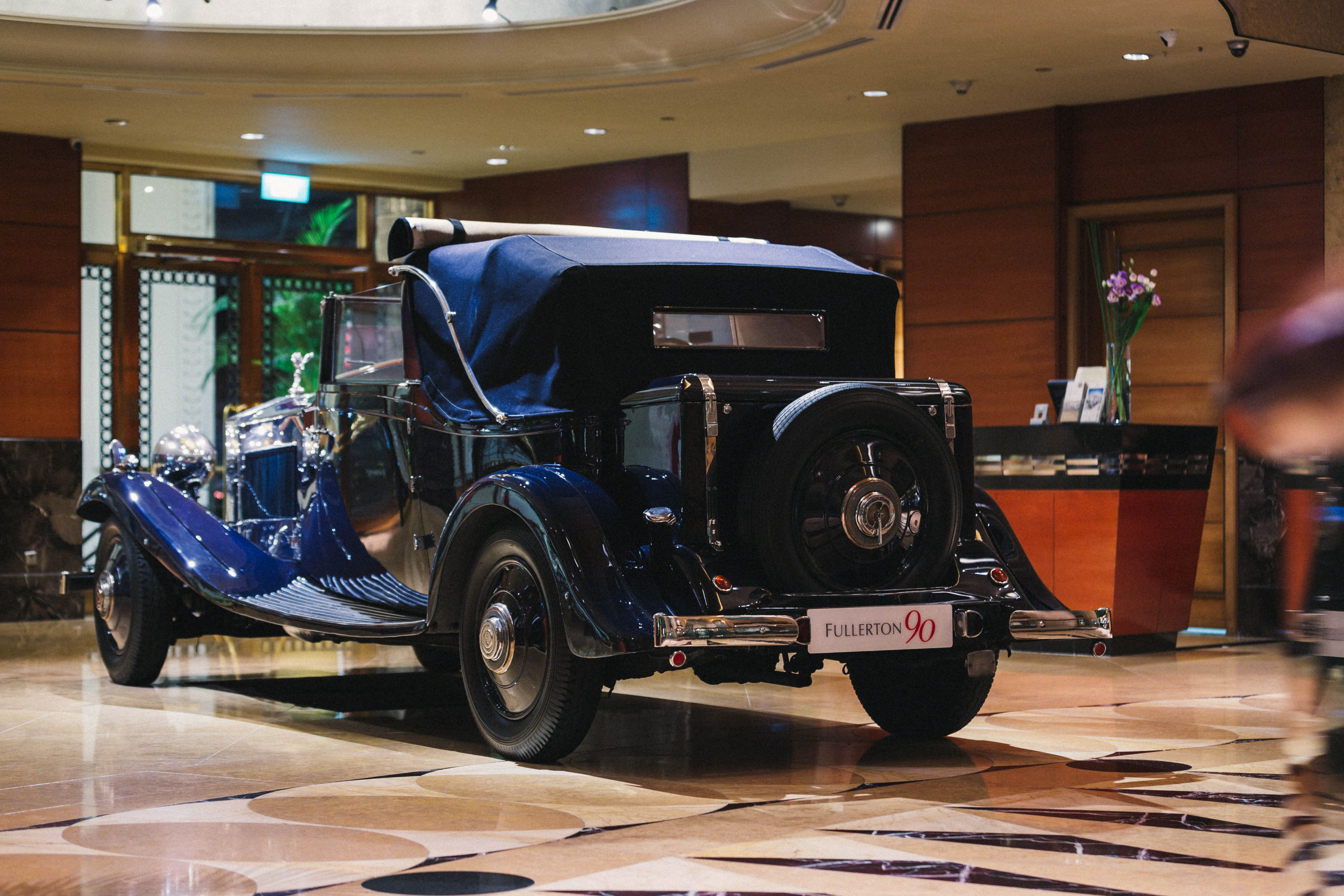 Classic Feature The Fullerton Concours D Elegance Singapore A