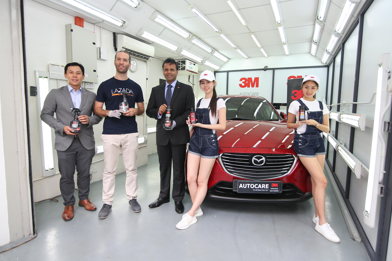 3m Malaysia Launches Diy Car Care Range Announces Official 3m