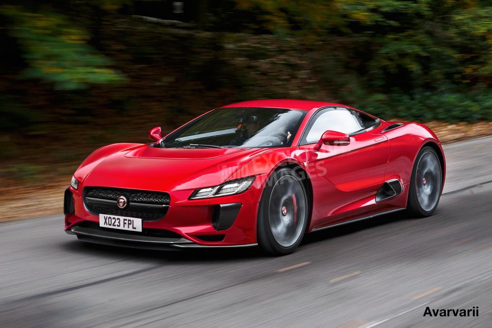 New Jaguar F-Type Supercar To Rival McLaren Set To Debut ...