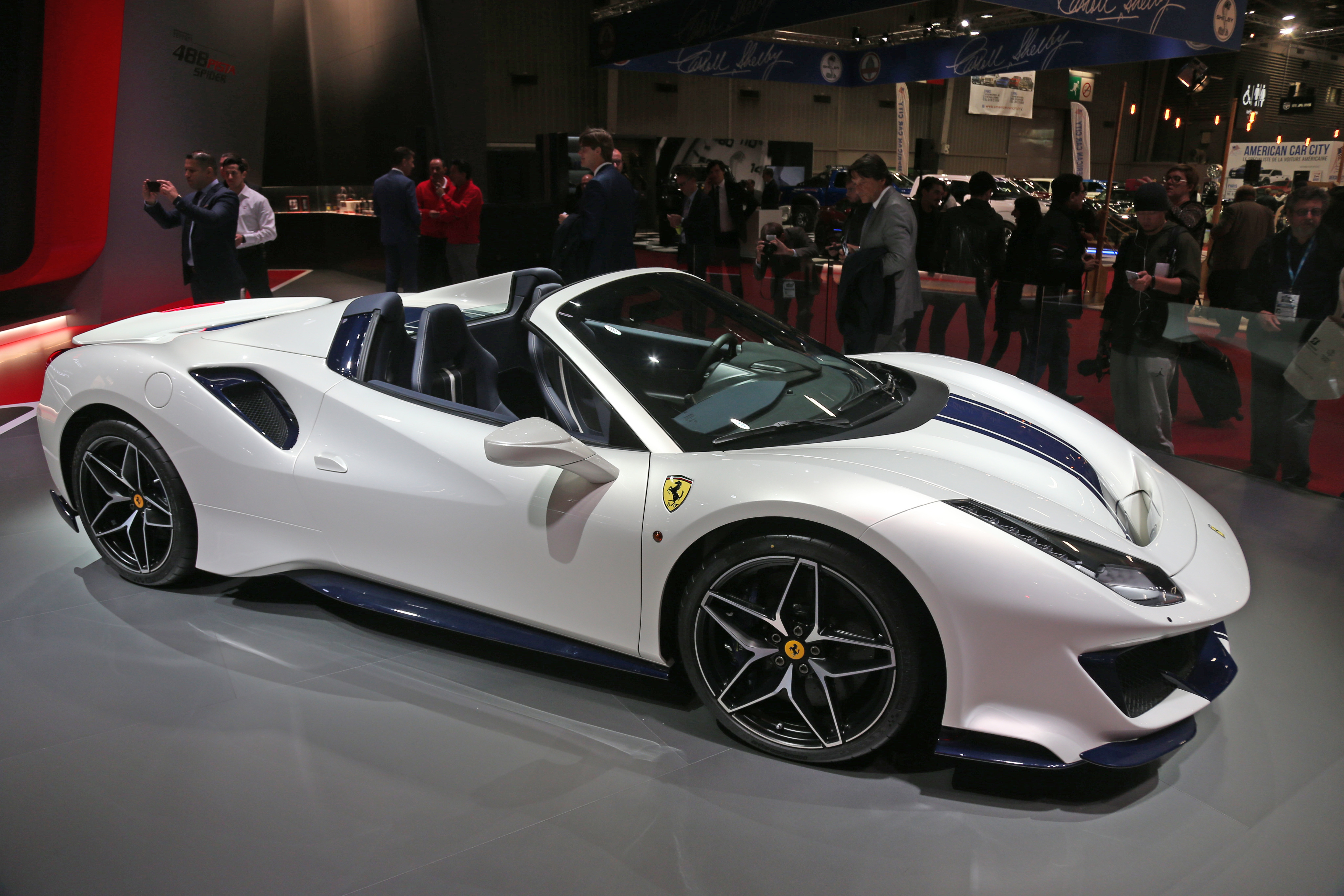 Ferrari 488 Pista Spider Makes Its European Debut At Paris Motorshow Along With Sp1 Sp2 Video News And Reviews On Malaysian Cars Motorcycles And Automotive Lifestyle