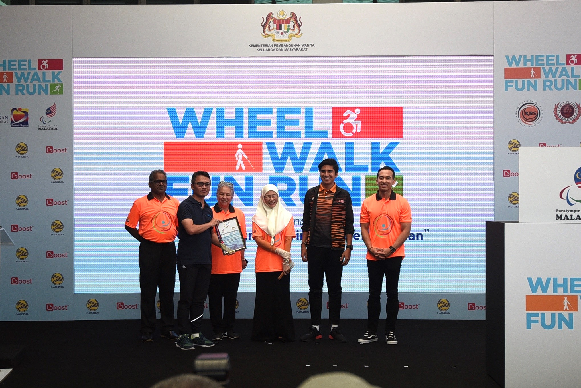 Naza Sponsors 'Wheel, Walk & Fun Run' Event 2019 - News and reviews