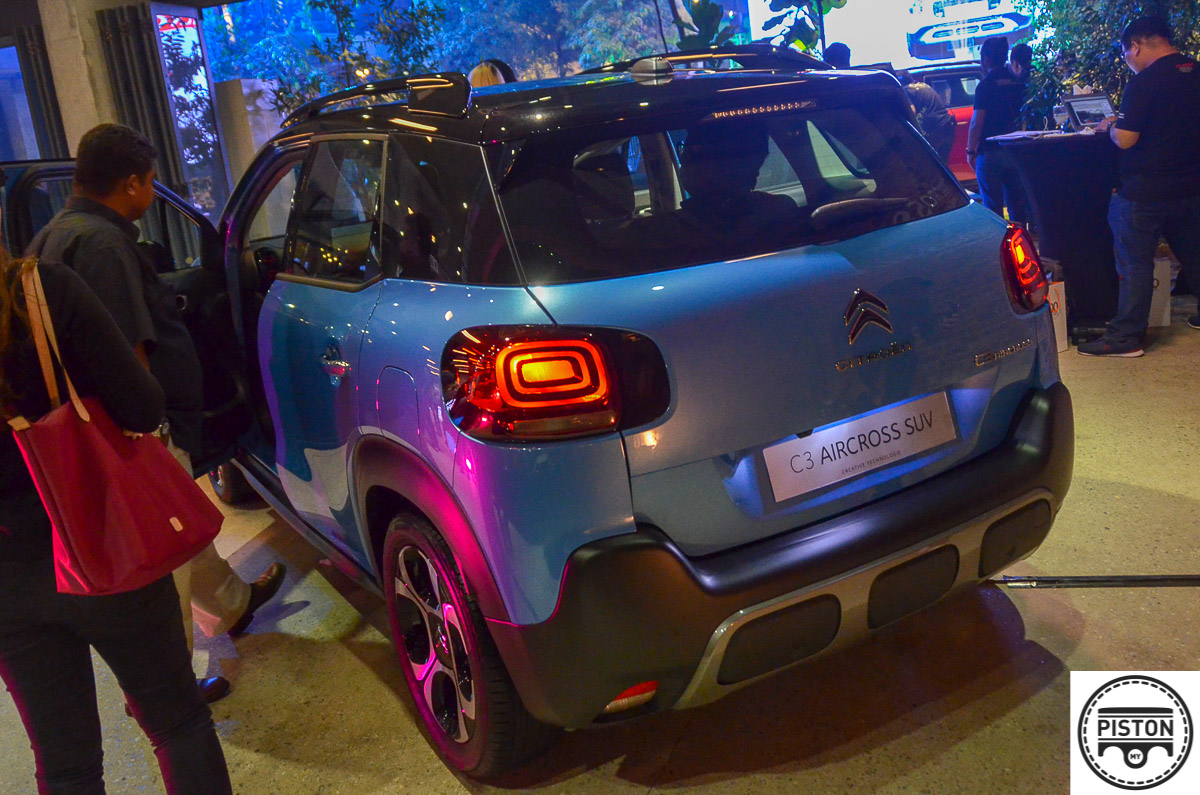 All-new Citroën C3 Aircross SUV unveiled - RM115,888 - News