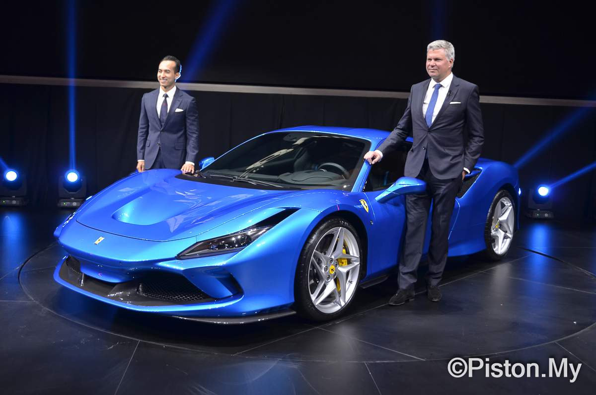 The Ferrari F8 Tributo Has Landed In Malaysia News And Reviews On Malaysian Cars Motorcycles And Automotive Lifestyle