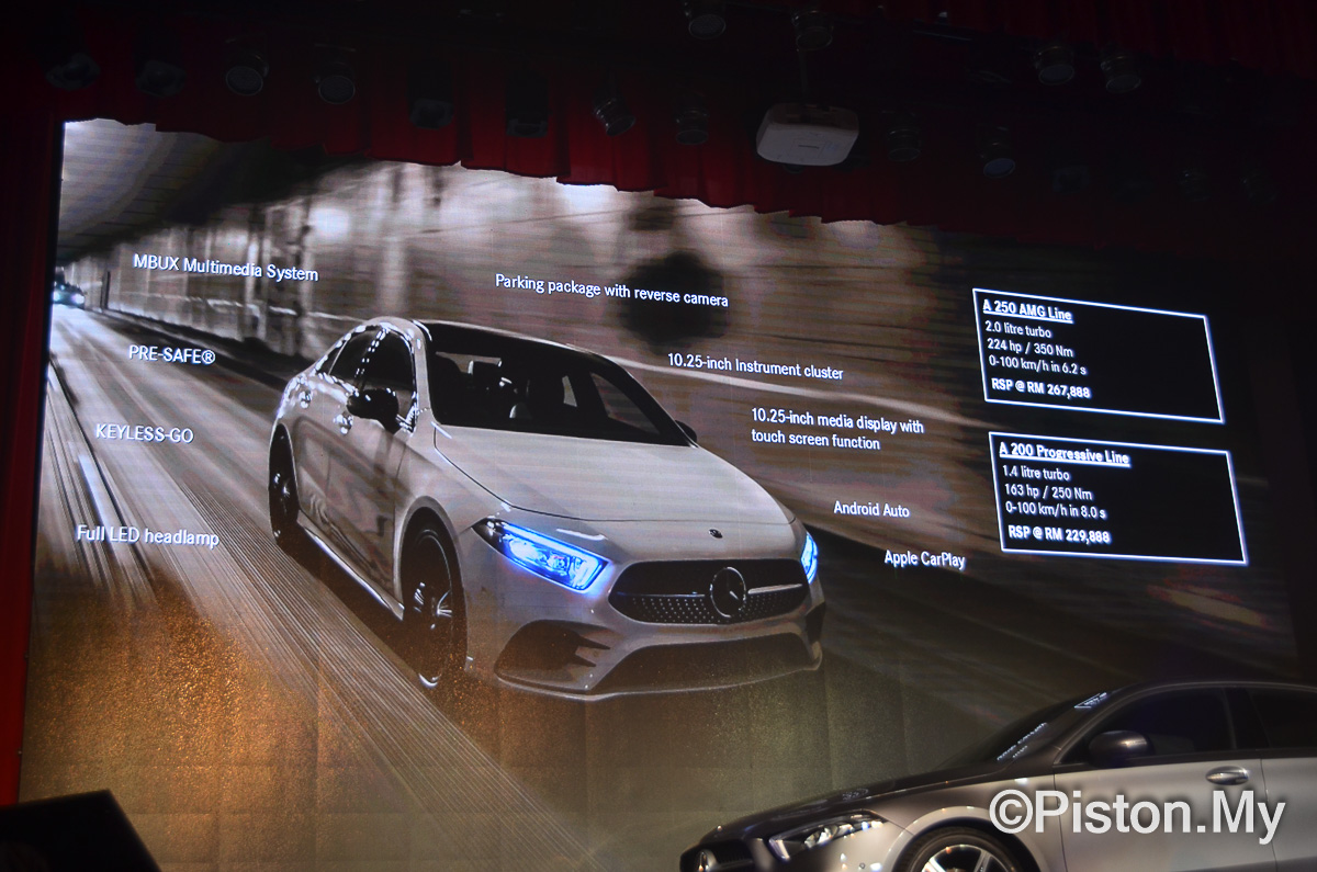 2019 Mercedes-Benz A-Class launched! From RM229,888 - News