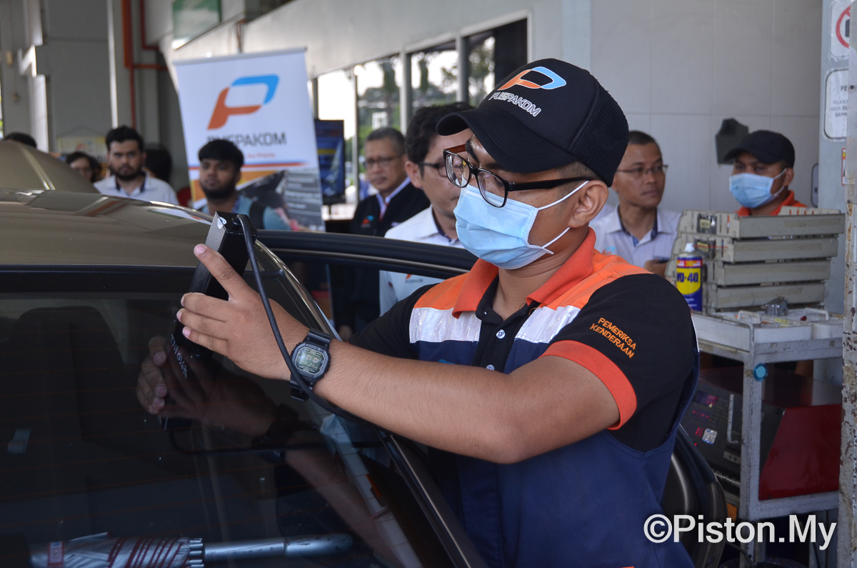 PUSPAKOM: Only 35 out of 200,000 e-Hailing cars inspected in