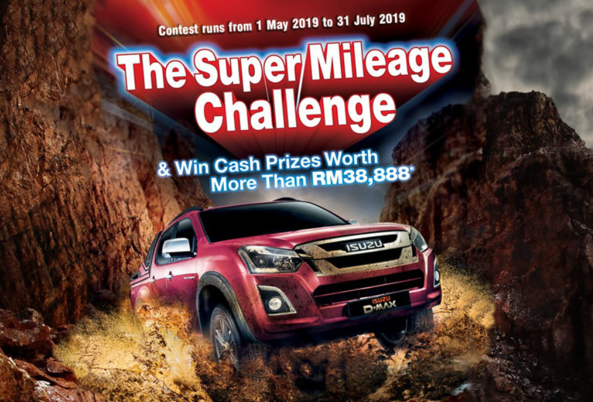 Isuzu D-Max owners, here's your chance to win RM15,000