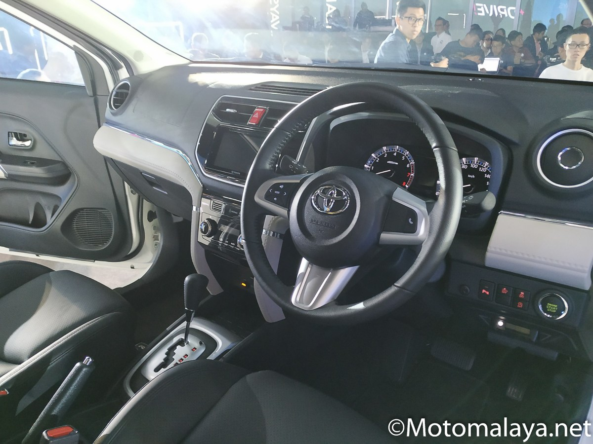 Toyota Rush in Malaysia NOT AFFECTED by airbag ECU recall - News and