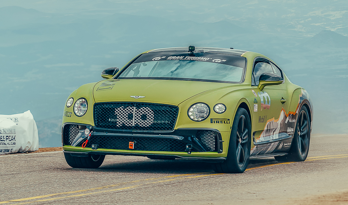 Bentley Continental Gt Breaks Record At Pikes Peak Pistonmy