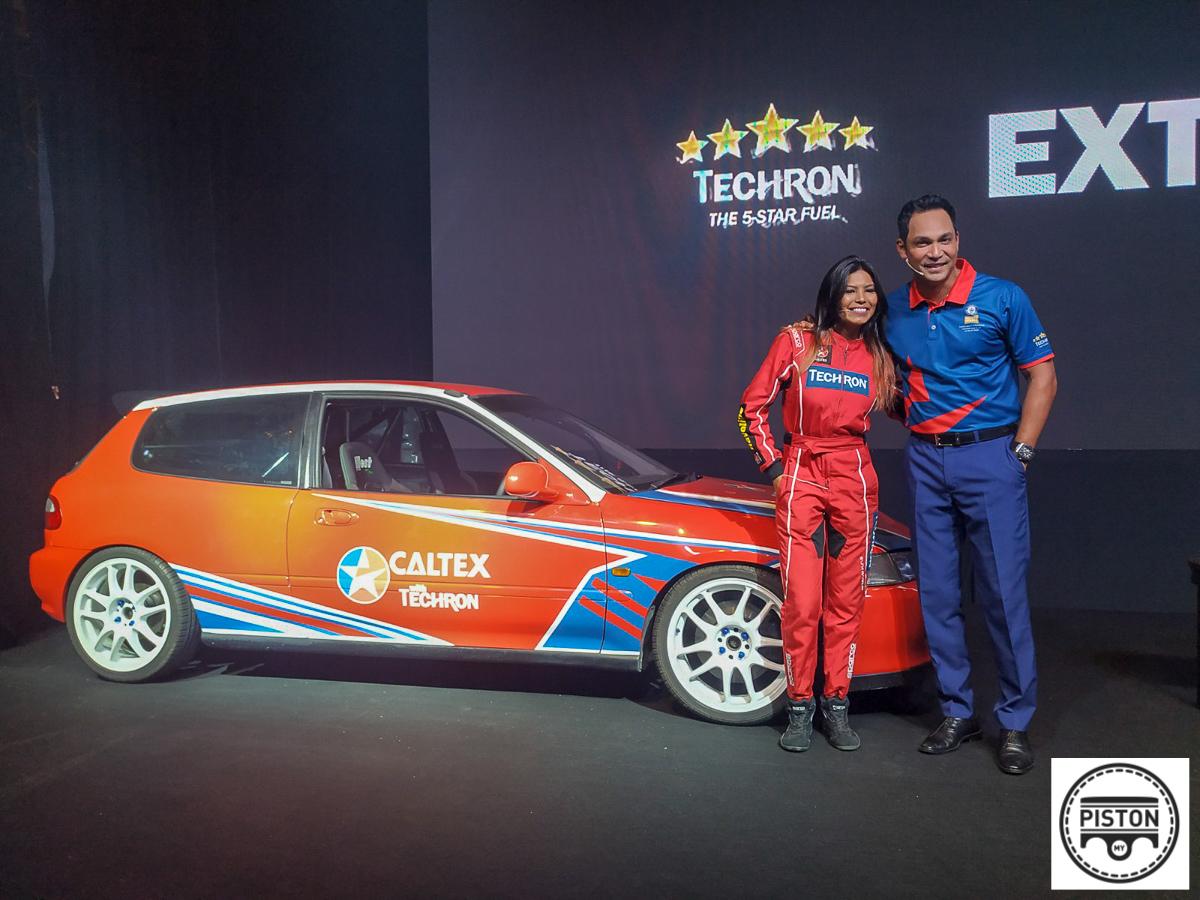 Natasha Chang Sets New Guinness World Record With Caltex