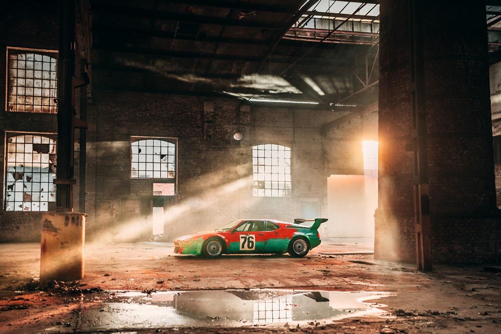 BMW M1 Art Car in 2019