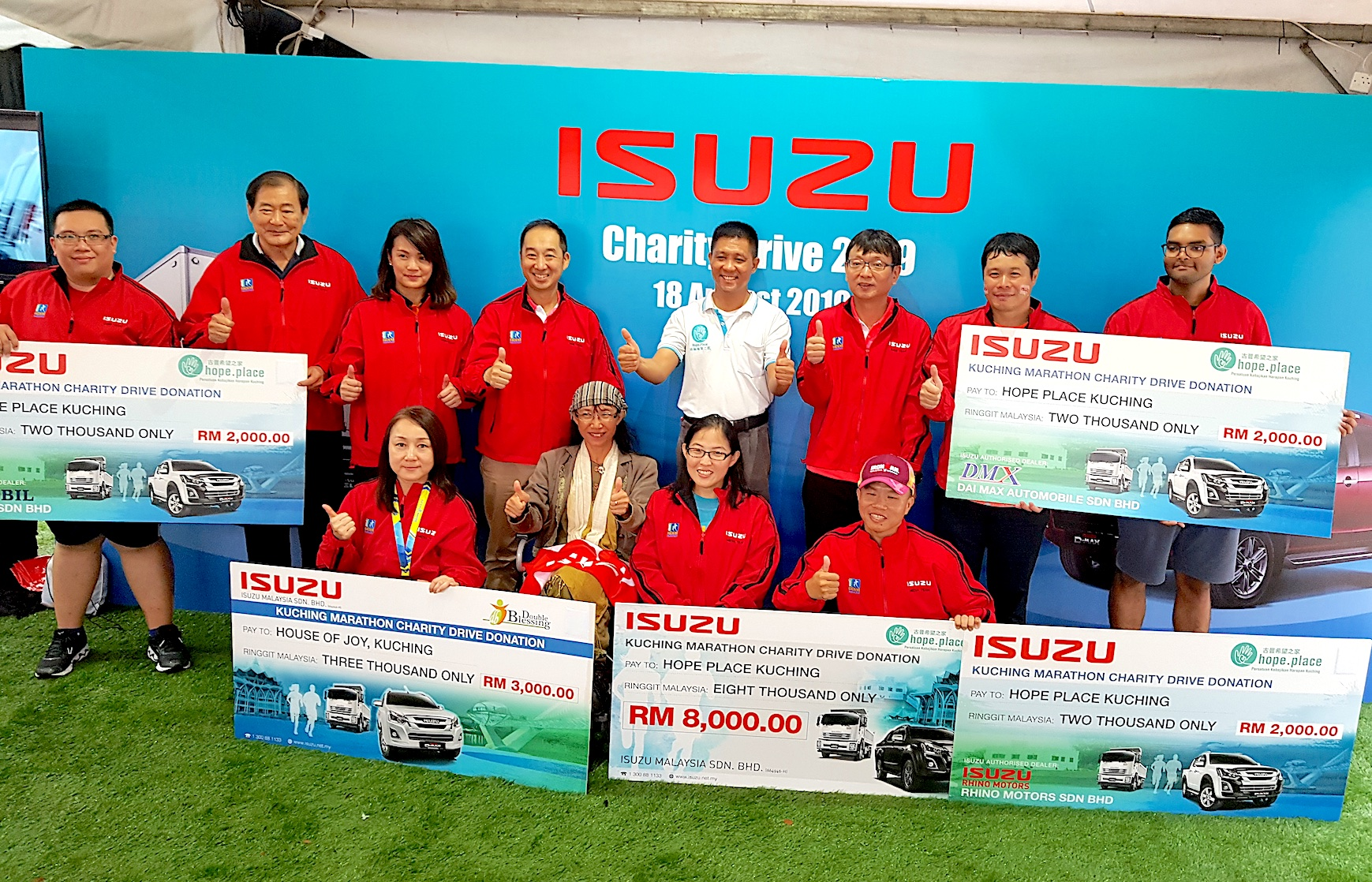 Isuzu Charity Presentation