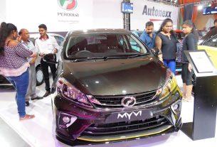 Perodua Myvi in Mauritius