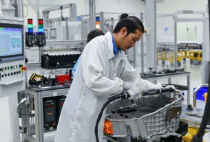 BMW High Voltage Battery production in Thailand