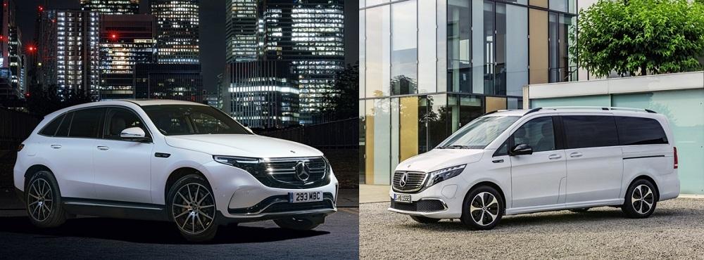 Mercedes EQC and EQV
