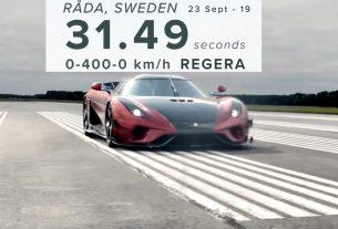 Koenigsegg world record
