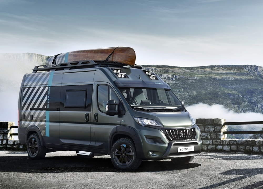 Peugeot 4x4 Boxer Concept departs from traditional camper