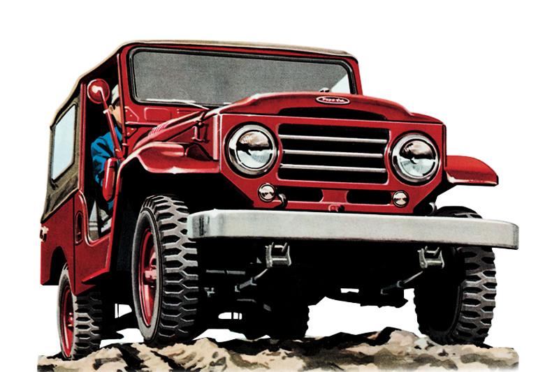 Toyota Land Cruiser 1956