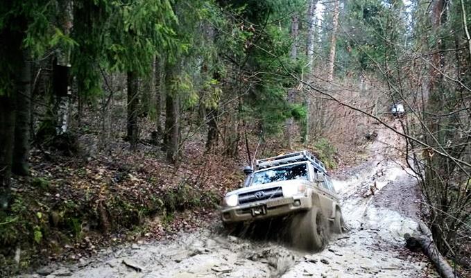 Toyota Land Cruiser in Russia