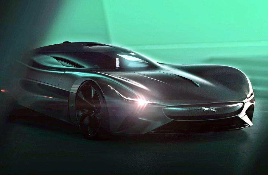 2019 Jaguar Vision Gran Turismo Coupe