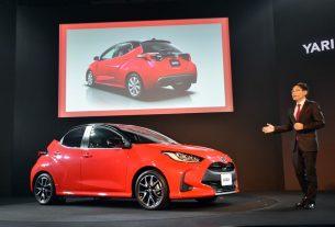 2020 Toyota Yaris Gen 4 Europe-Japan model