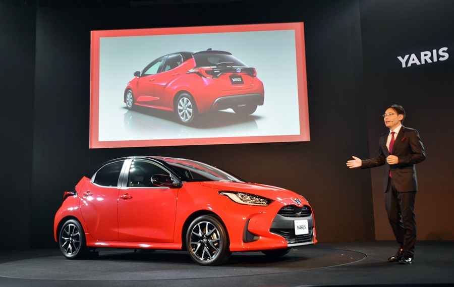 2020 Toyota Yaris Gen 4 Europe-Japan model