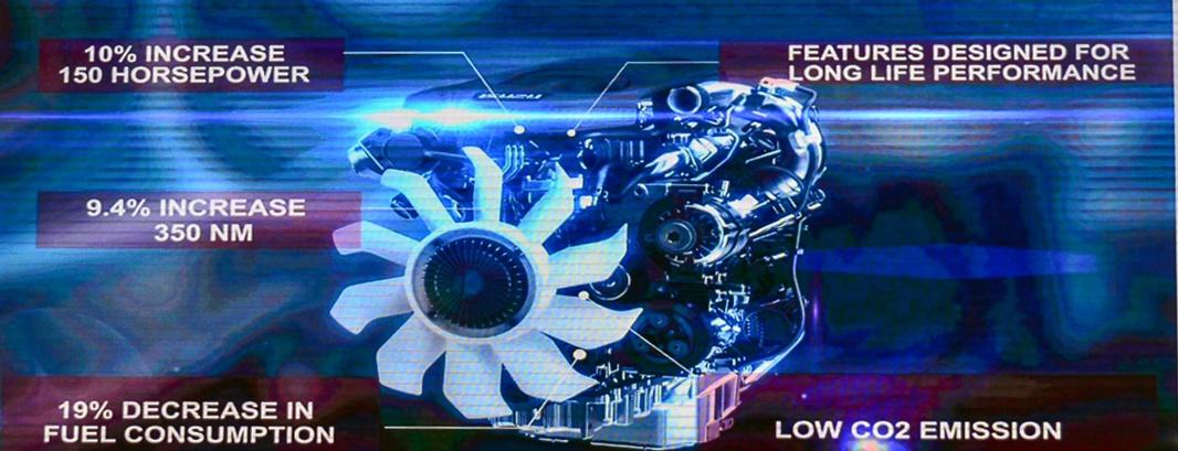 Isuzu BluePower engine