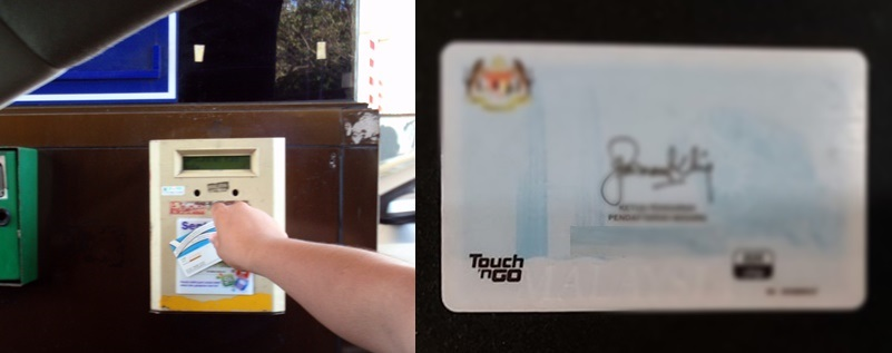 Touch'NGo card
