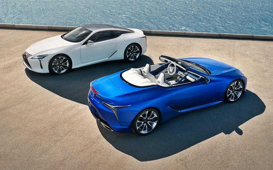 2020 Lexus LC 500 Convertible