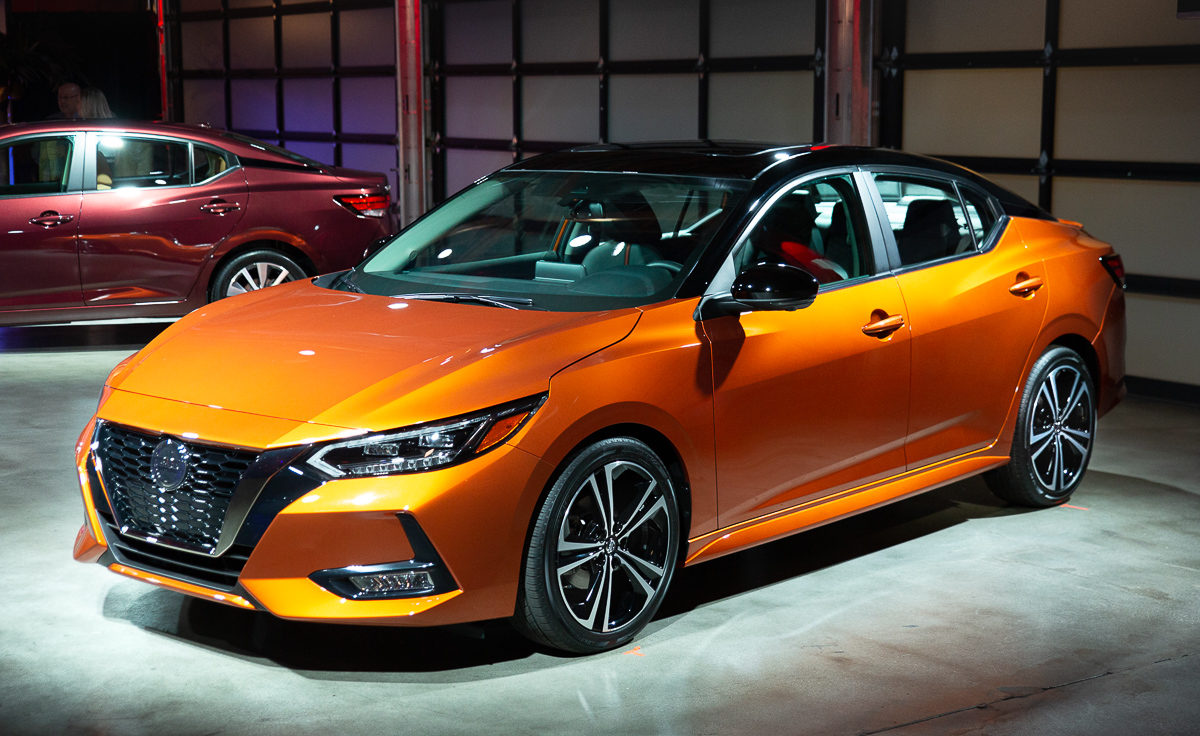 2020 Nissan Sentra launched at 2019 LA Auto Show - News ...