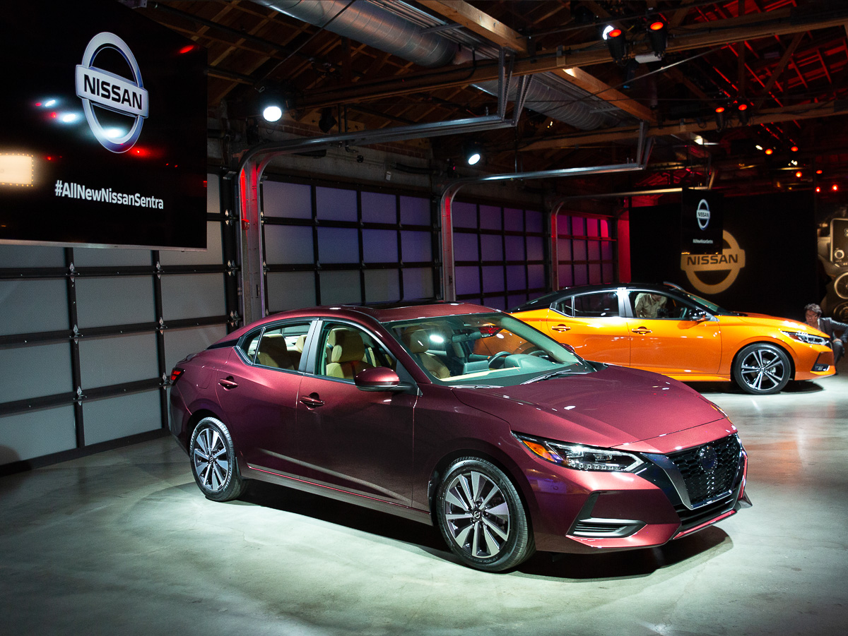 2020 Los Angeles Auto Show.2020 Nissan Sentra Launched At 2019 La Auto Show News And