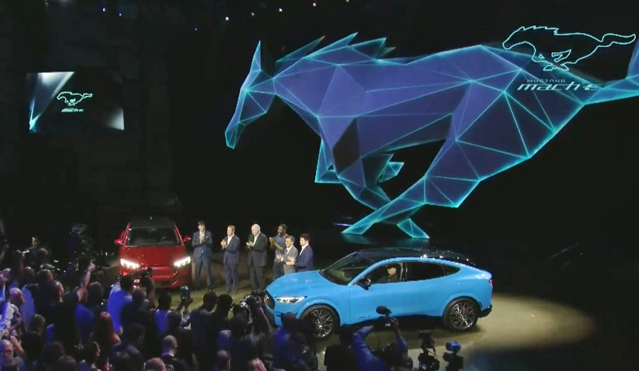 Ford Mustang Mach-E DEBUT