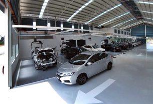 Honda 4S centre