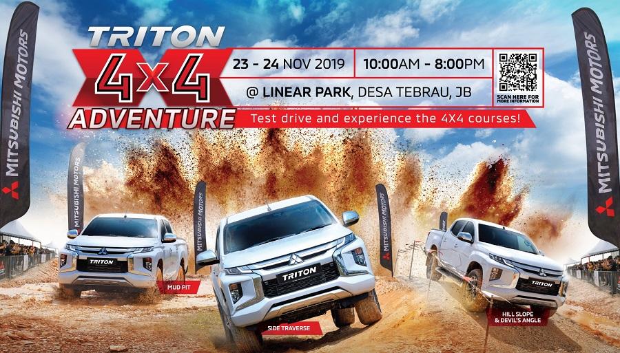 Mitsubishi Triton 4x4 Adventure