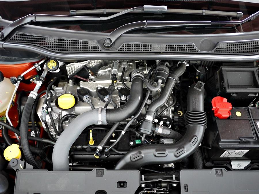 Renault Captur Trophy engine