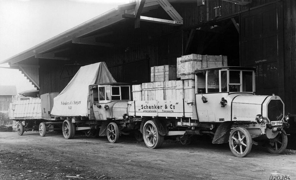 Daimler truck history