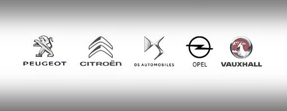 Groupe PSA brands