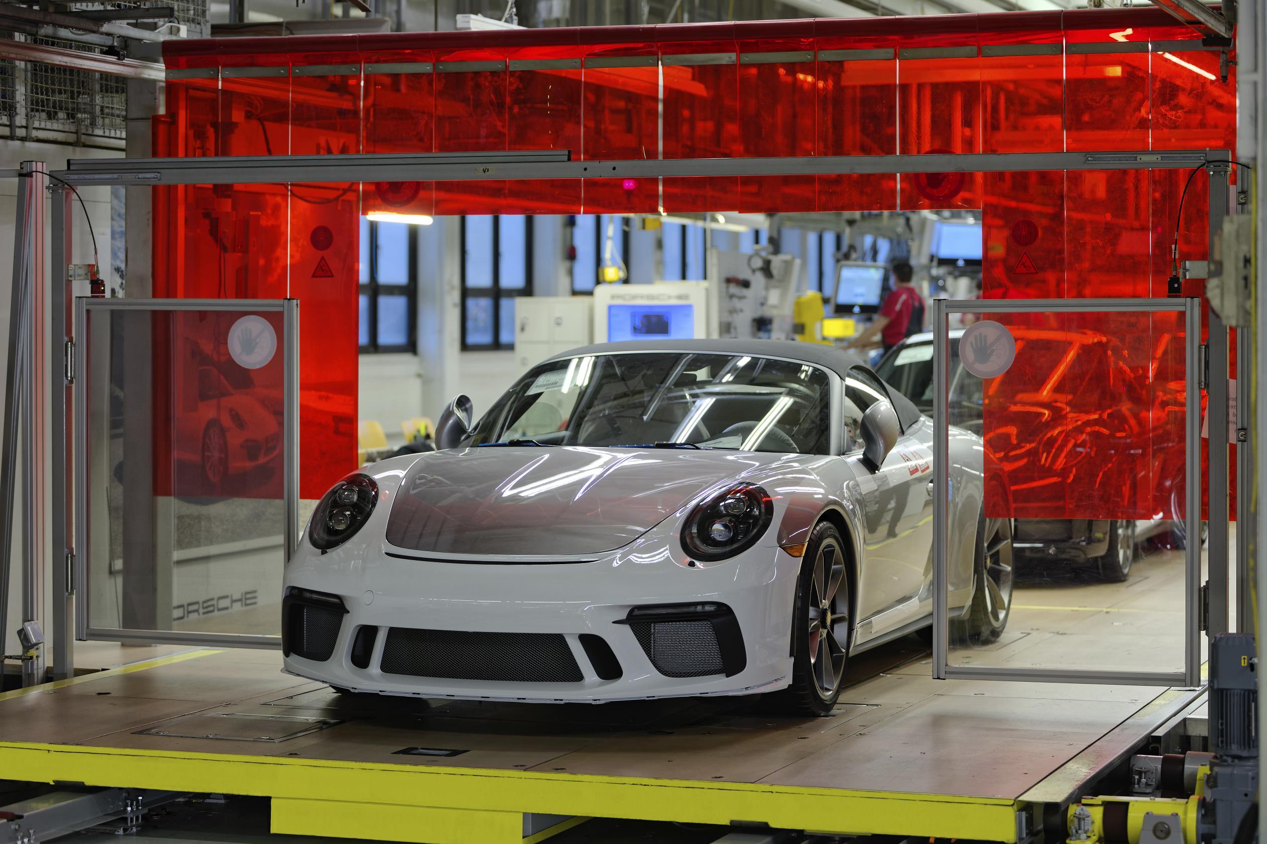 Last Porsche 991