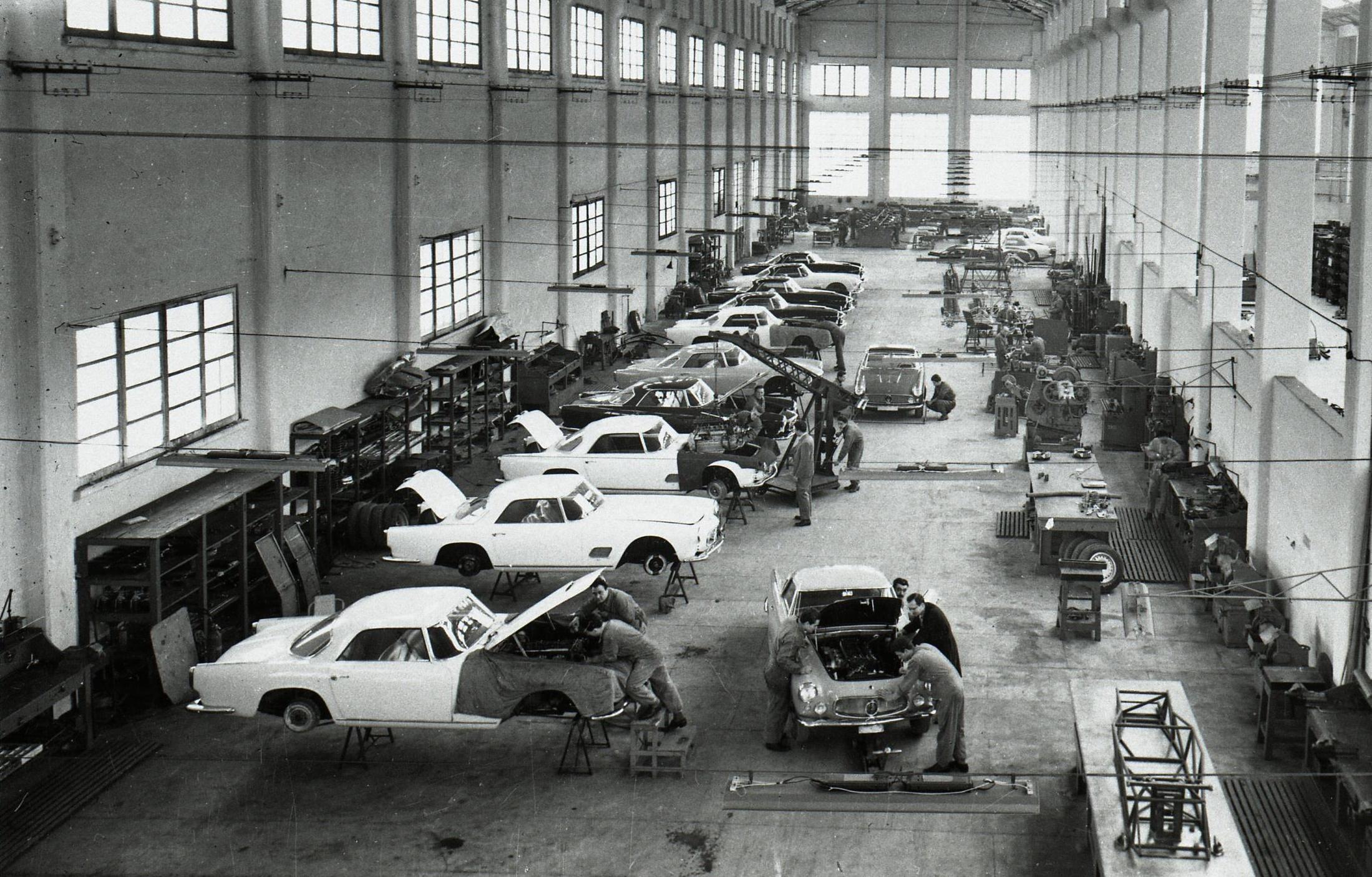 Maserati Modena plant