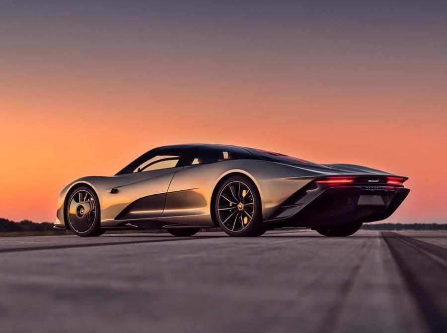 McLaren Speedtail Hypercar
