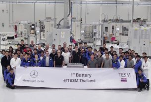 Mercedes-Benz battery pack production in Thailand