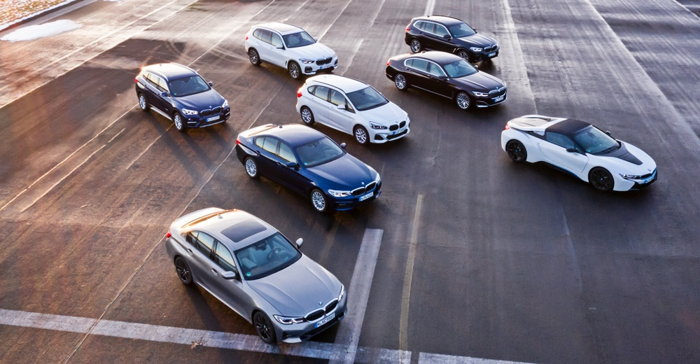 BMW electrified models